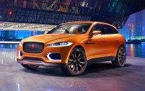 2016 Jaguar F-PACE Crossover Concept Front