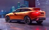 2016 Jaguar F-PACE Crossover Concept Rear