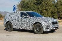 2016 Jaguar F-PACE Crossover Spyshot Front