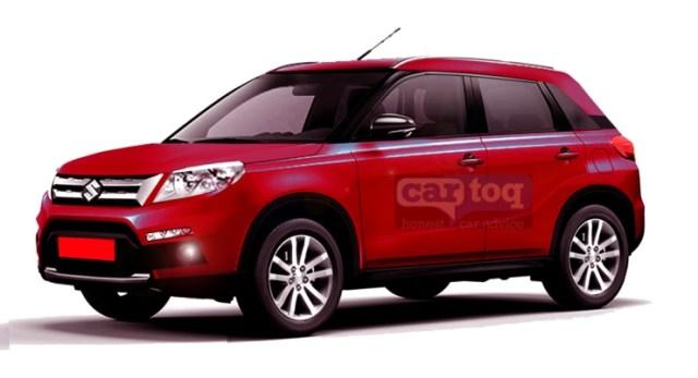 Maruti Suzuki YBA XA-Alpha Compact SUV Render 3