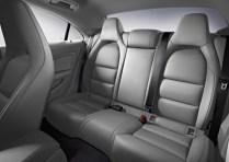 Mercedes Benz CLA Sedan Rear Seats