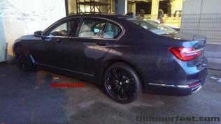 Next Generation 2016 BMW 7-Series Luxury Saloon Spyshot 2