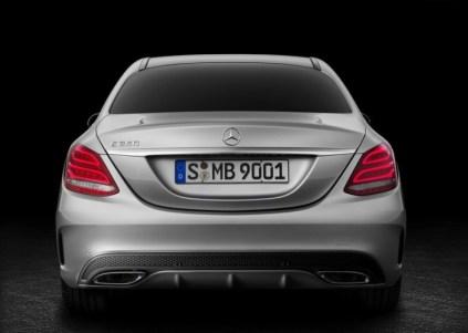 2015 Mercedes Benz C-Class Luxury Saloon Rear
