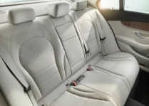 2015 Mercedes Benz C-Class Luxury Saloon Rear Seats