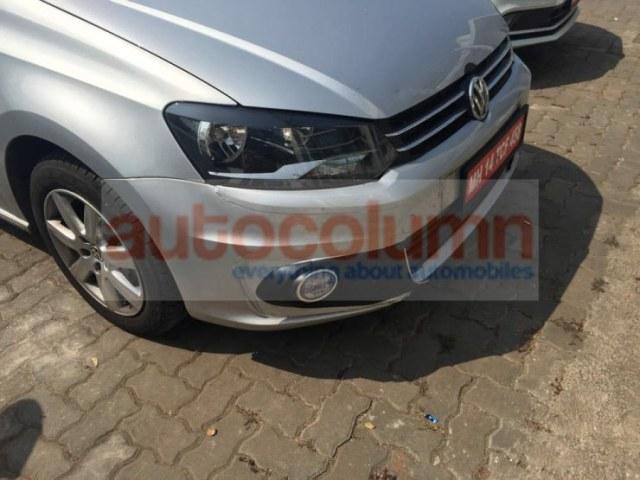 2015 Volkswagen Vento Sedan Facelift Front