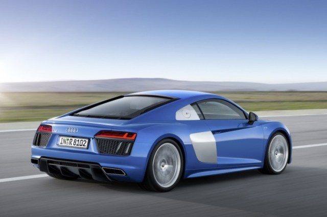 2016 Audi R8 Supercar Rear