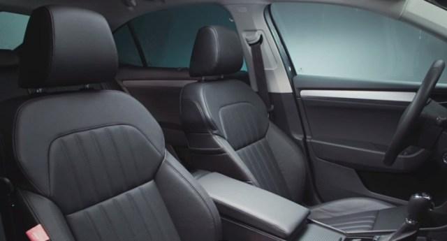 016 Skoda Superb Luxury Saloon Front Seats