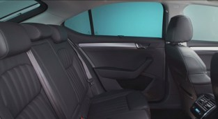 016 Skoda Superb Luxury Saloon Rear Seats