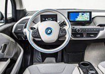 BMW i3 Electric Car Steering