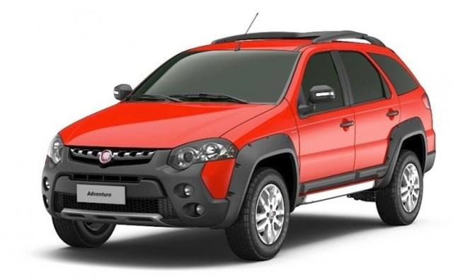 Fiat Palio Adventure Front