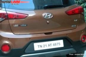 Hyundai i20 Active Crossover Spyshot Rear