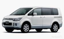 Mitsubishi Delica MPV Front Three Quarters