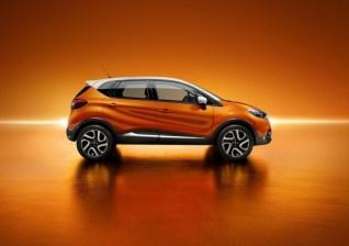 Renault Captur Compact Crossover Profile
