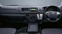 Toyota Hiace MPV Dashboard