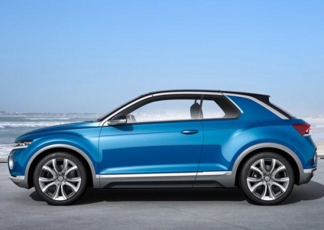 Volkswagen T-ROC Compact SUV Concept Profile