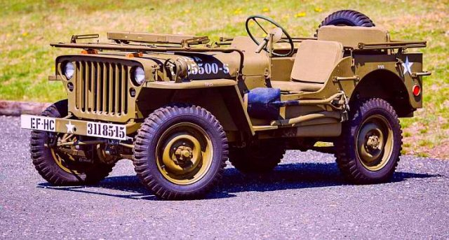 Willy's Low Bonnet Jeep