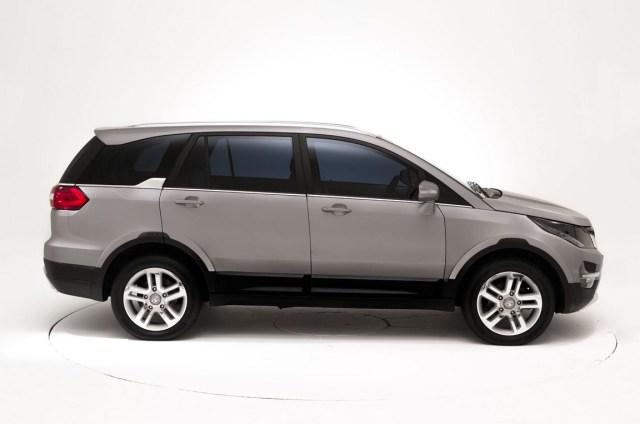 016 Tata Hexa Crossover Concept Profile