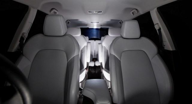 016 Tata Hexa Crossover Concept Seating
