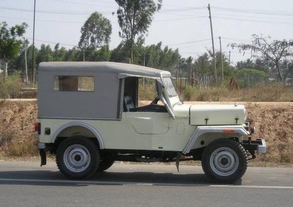 Mahindra CJ500d