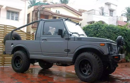 Maruti Gypsy Narrow Track to Off Roader 2