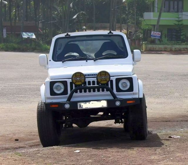 Maruti Suzuki Gypsy Wide Track with 1.6 Liter Baleno Engine