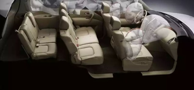 Nissan Patrol SUV Safety Features