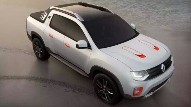 Renault Duster Oroch Pick Up Truck Concept Front