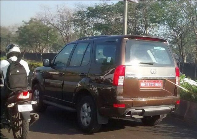 Tata Safari Storme 400 Facelift