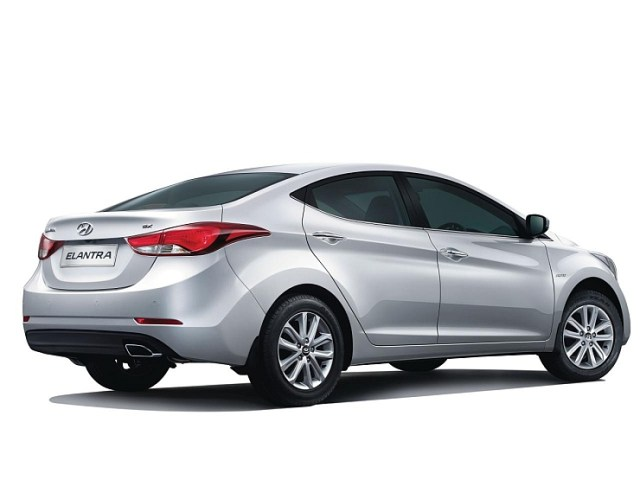 2015 Hyundai Elantra Sedan Facelift Rear