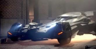 BatMobile in Batman vs Superman