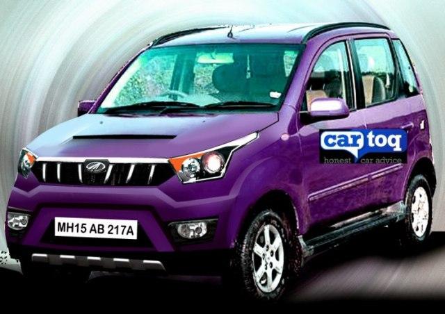 Mahindra Quanto Facelift in CarToq's Speculative Render