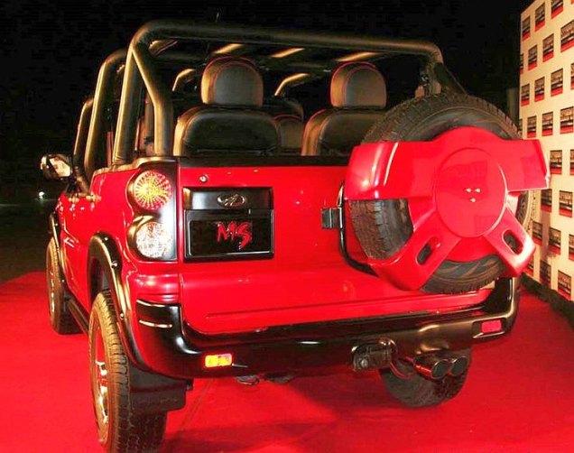 Mahindra Scorpio MS Dhoni Edition Rear