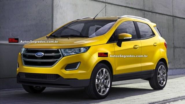 2016 Ford EcoSport Facelift Render 2