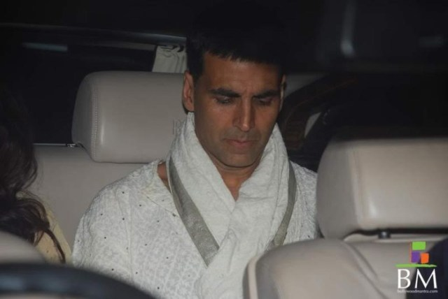Akshay Kumar in his Rolls Royce