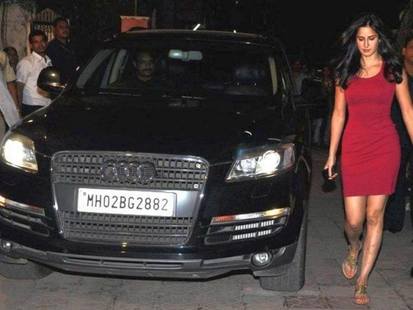 Katrina Kaif with her Audi Q7 Luxury Crossover
