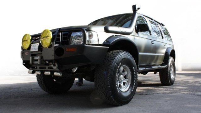 MKraft's Ford Endeavour Custom 1