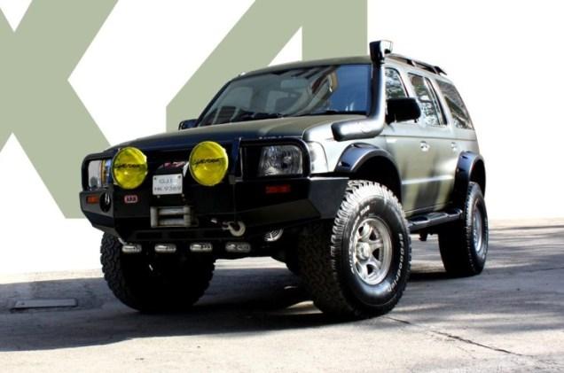 MKraft's Ford Endeavour Custom