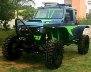 Modified Maruti Suzuki Gypsy 1