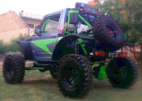Modified Maruti Suzuki Gypsy 2
