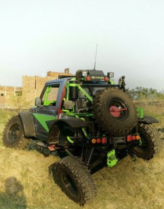 Modified Maruti Suzuki Gypsy 4