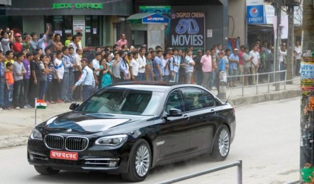 Narendra Modi's BMW 7-Series