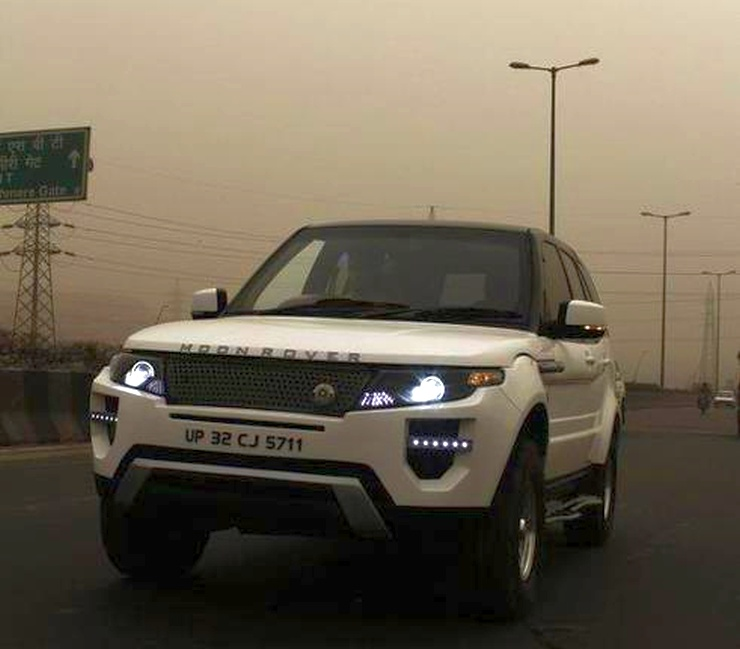 Land Rover 2012 Price: 10 Modified Tata Safari SUVs