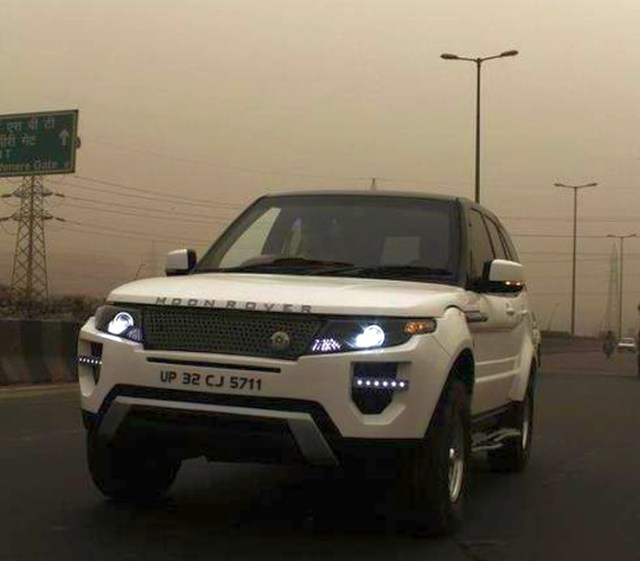 Tata Safari to Range Rover Evoque Replica 3