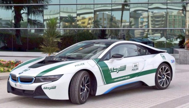 Dubai Police's BMW i8
