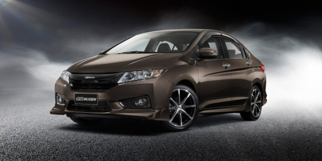 Honda City Sedan with Mugen Kit 1