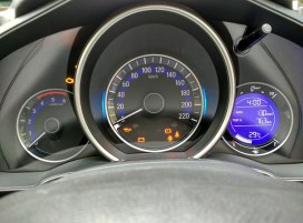 Honda Jazz instrument panel