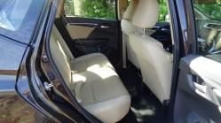 Honda Jazz rear seat