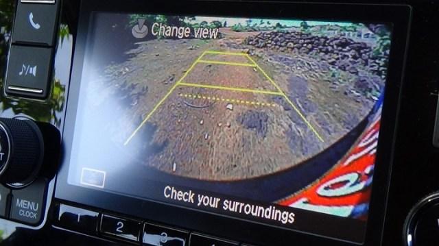 Honda Jazz  reverse camera