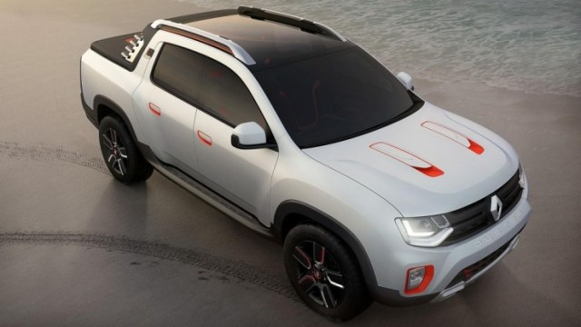 Renault Duster-based Oroch Pick Up Truck Concept 1