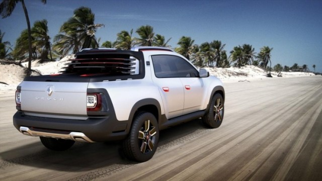 Renault Duster-based Oroch Pick Up Truck Concept 4